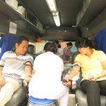 Tham gia hiến máu nhân đạo 2014