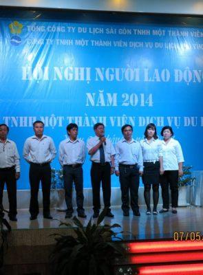 Hội nghị Người Lao Động Phuthotourist 2014