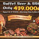 Lễ hội Buffet Beer & BBQ